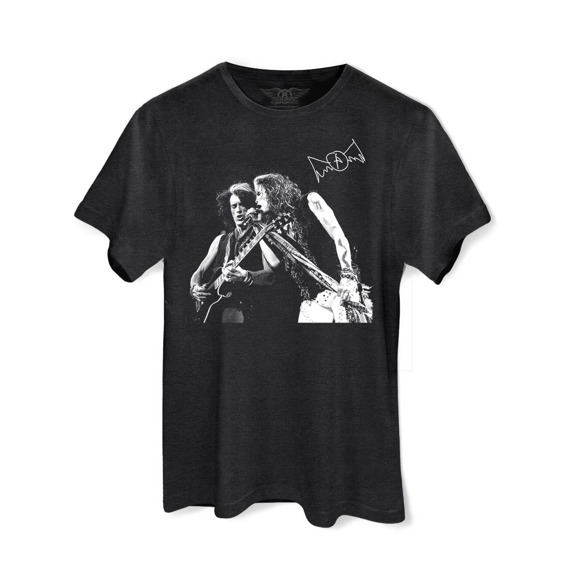 T-shirt Premium Masculina Aerosmith Sing