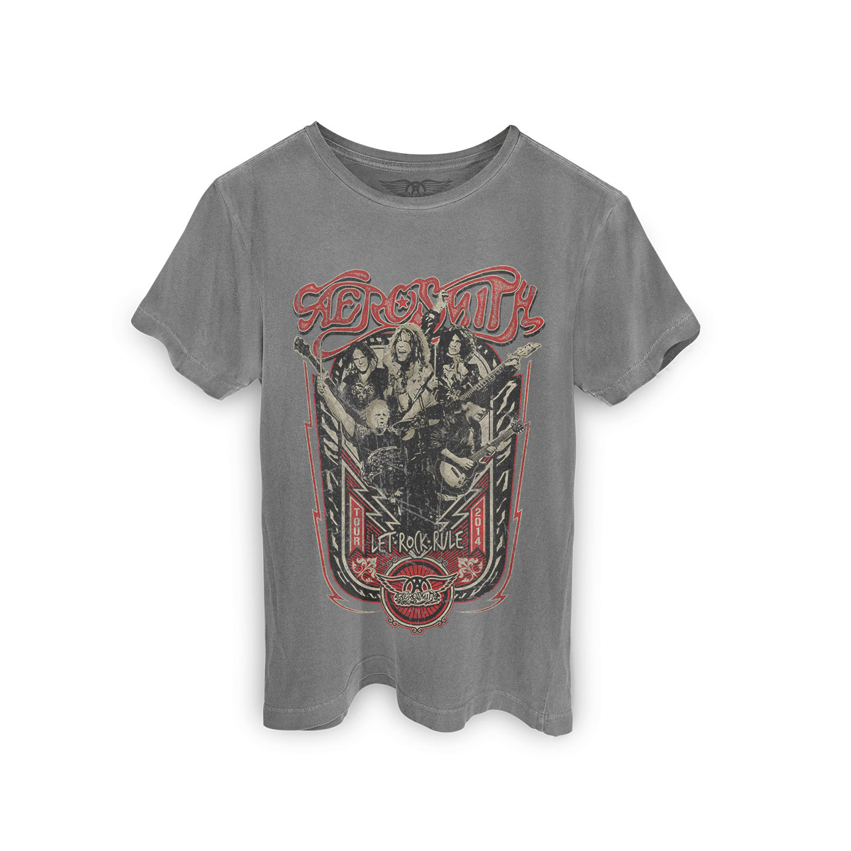 T-shirt Premium Masculina Aerosmith Tour 2014