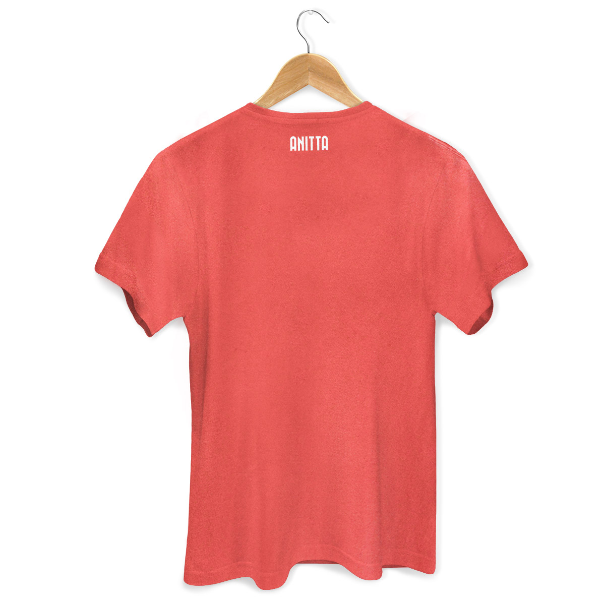 T-shirt Premium Masculina Anitta Letra A