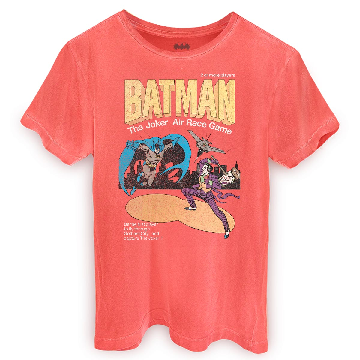 T-shirt Premium Masculina Batman Air Race Game