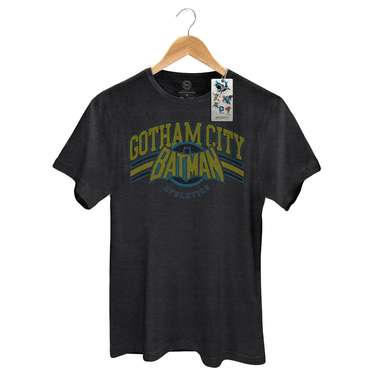 T-shirt Premium Masculina Batman Gotham Logo