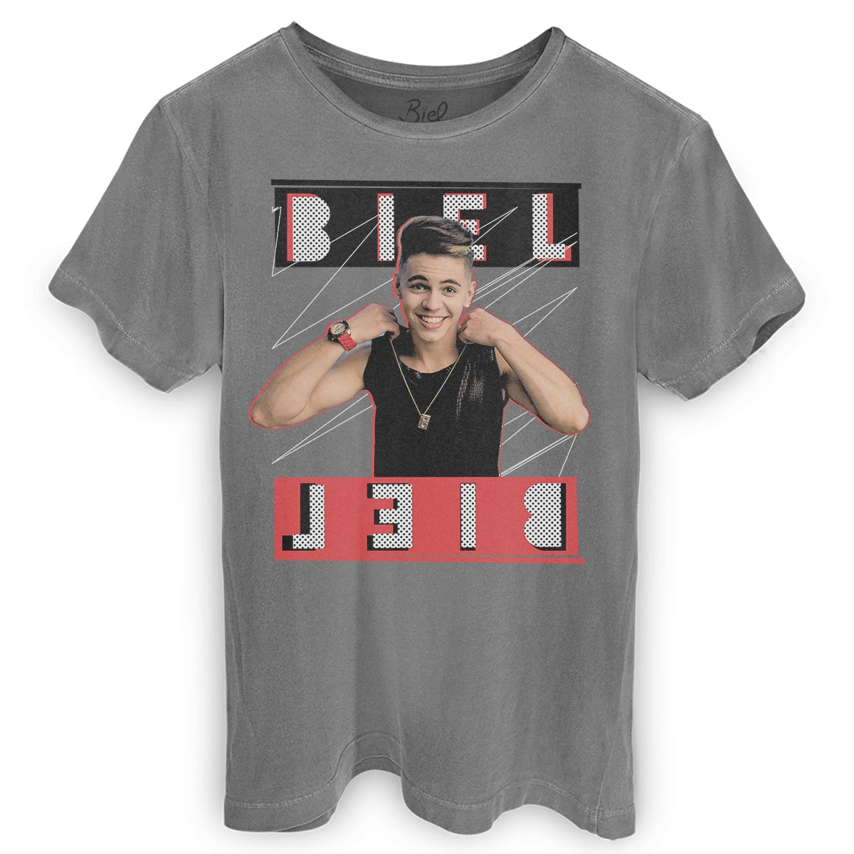 T-shirt Premium Masculina Biel Foto