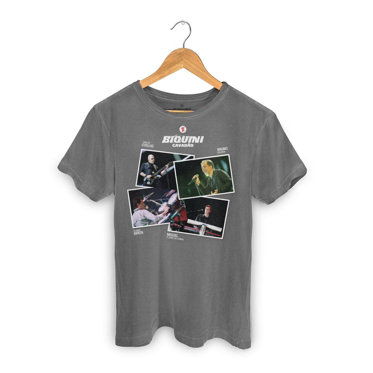 T-shirt Premium Masculina Biquini Cavad�o Fotos