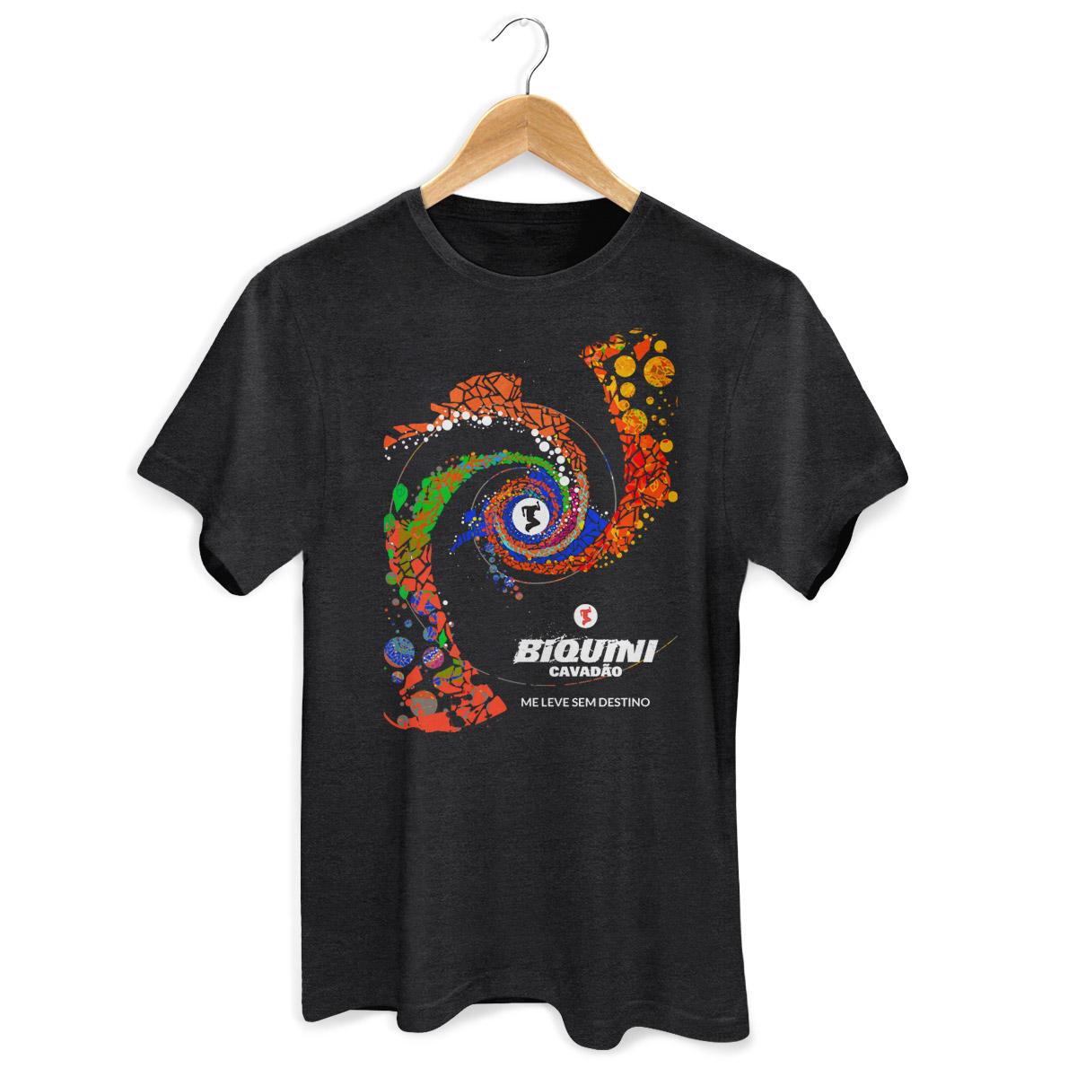 T-shirt Premium Masculina Biquini Cavadão Me Leve Sem Destino