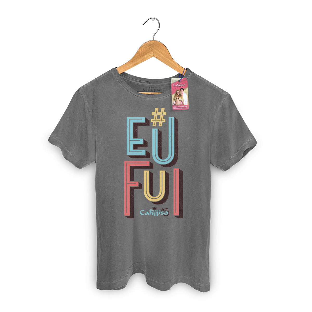 T-shirt Premium Masculina Calypso Eu Fui