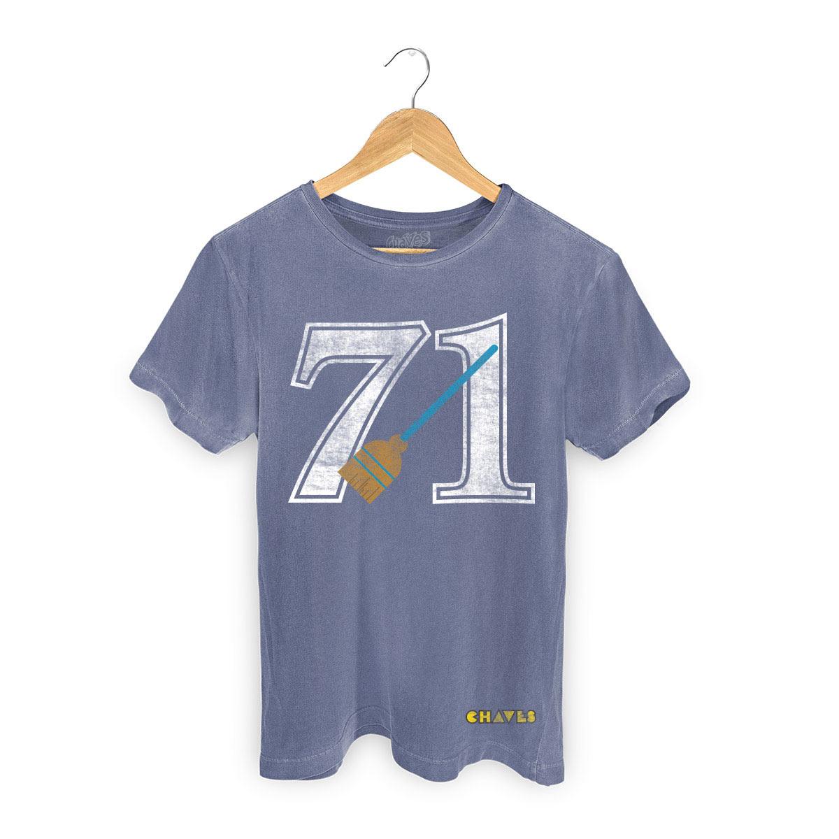 T-shirt Premium Masculina Chaves Bruxa do 71