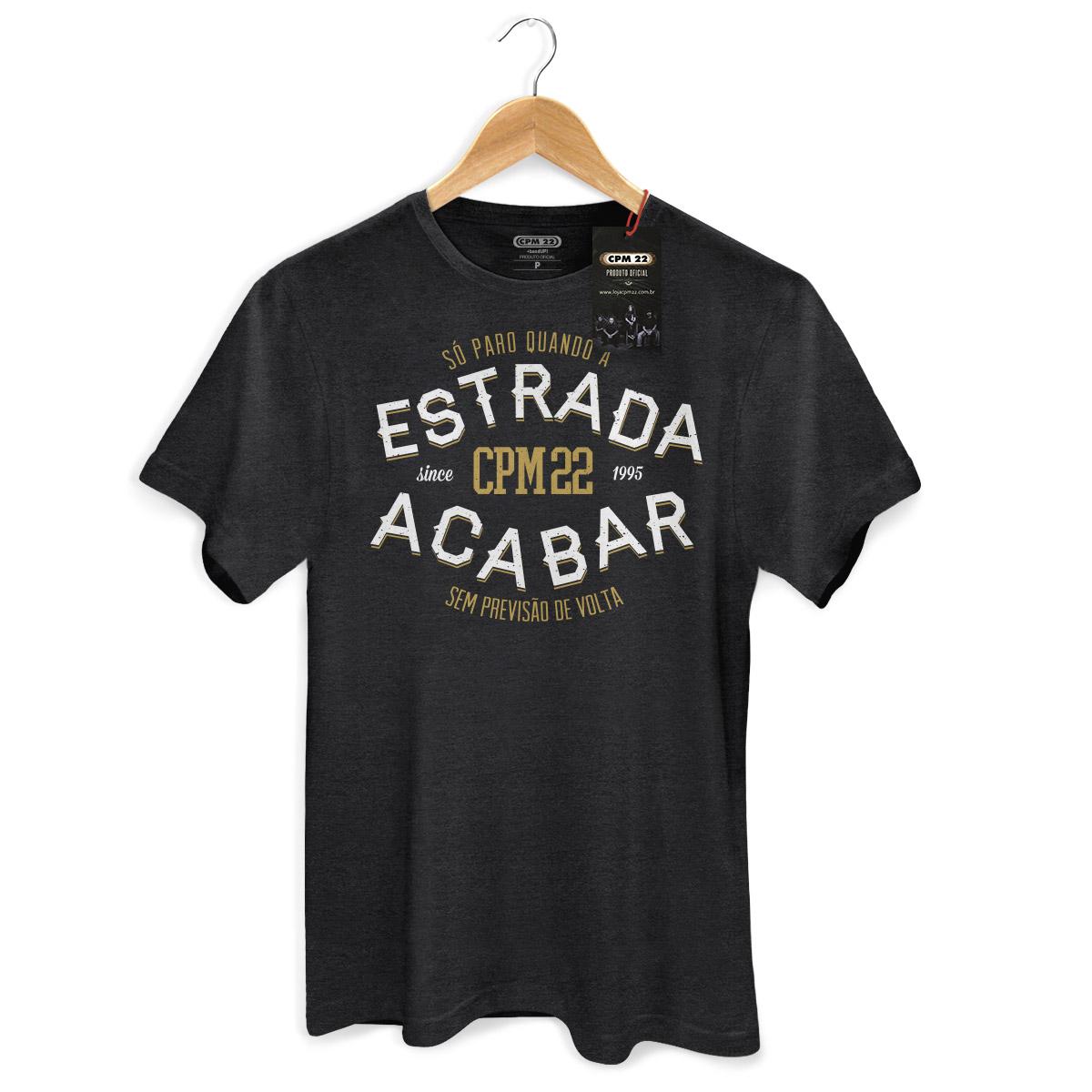 T-shirt Premium Masculina CPM 22 S� Paro Quando a Estrada Acabar