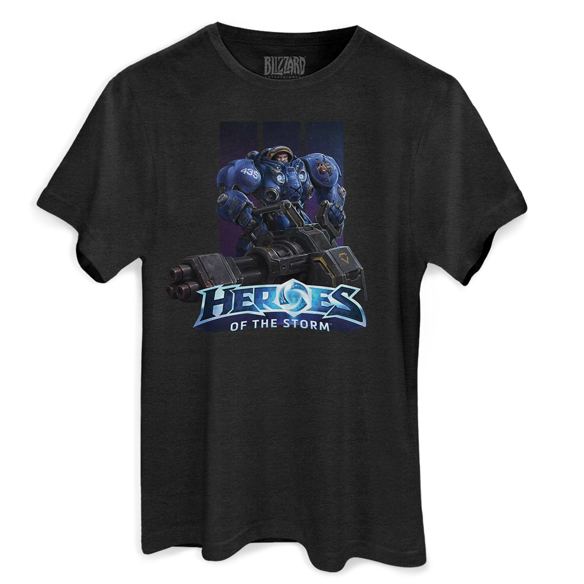 T-shirt Premium Masculina Heroes Of The Storm Tychus