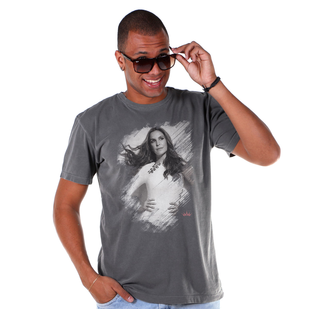 T-shirt Premium Masculina Ivete Sangalo Careless Whisper