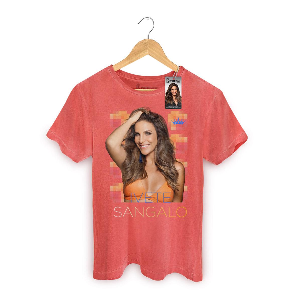 T-shirt Premium Masculina Ivete Sangalo Veveta