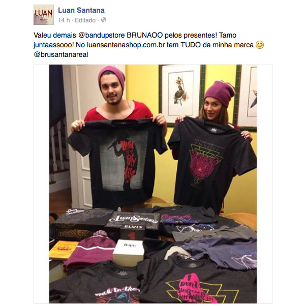 T-shirt Premium Masculina Luan Santana The Evolution Of Music