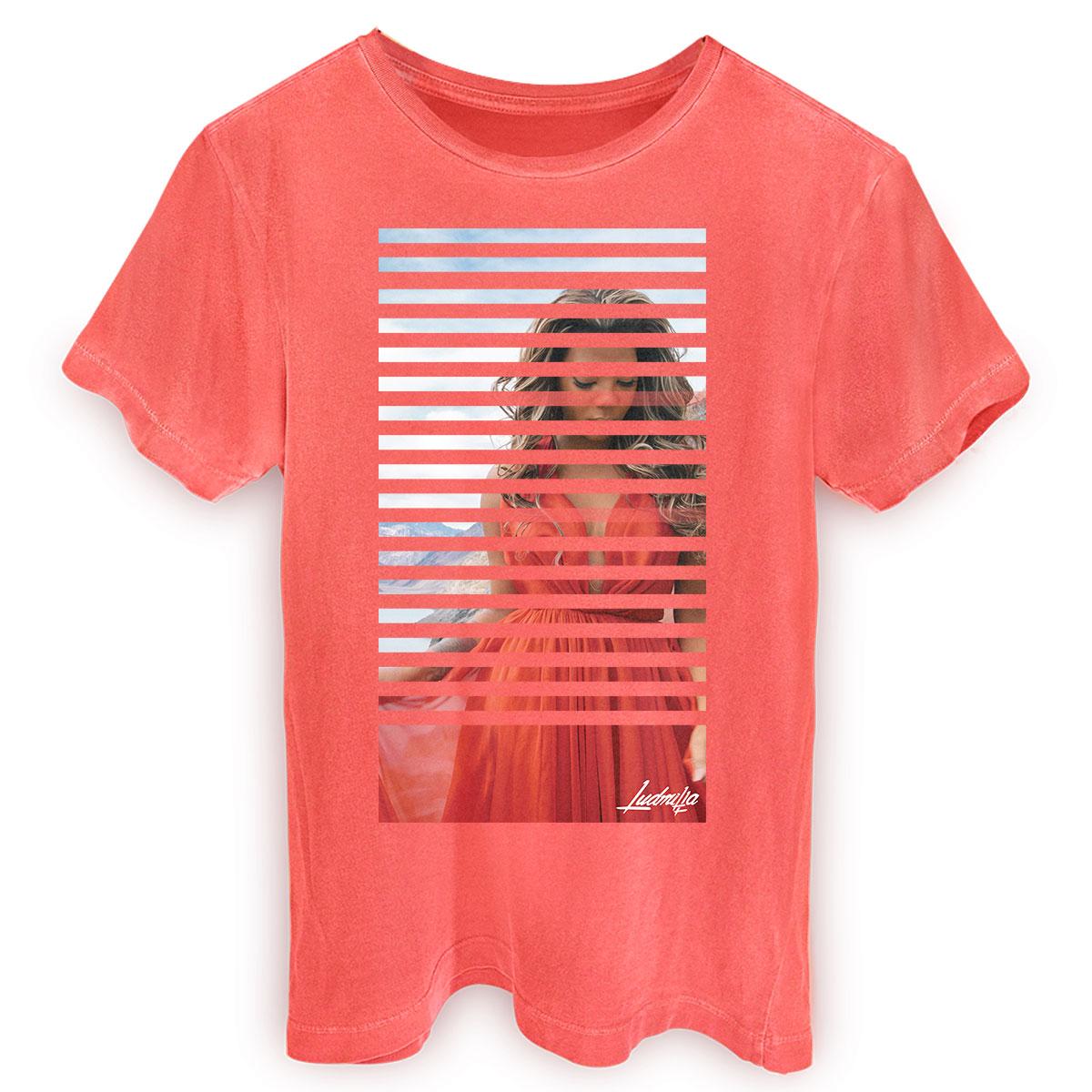 T-shirt Premium Masculina Ludmilla Não Quero Mais Picture