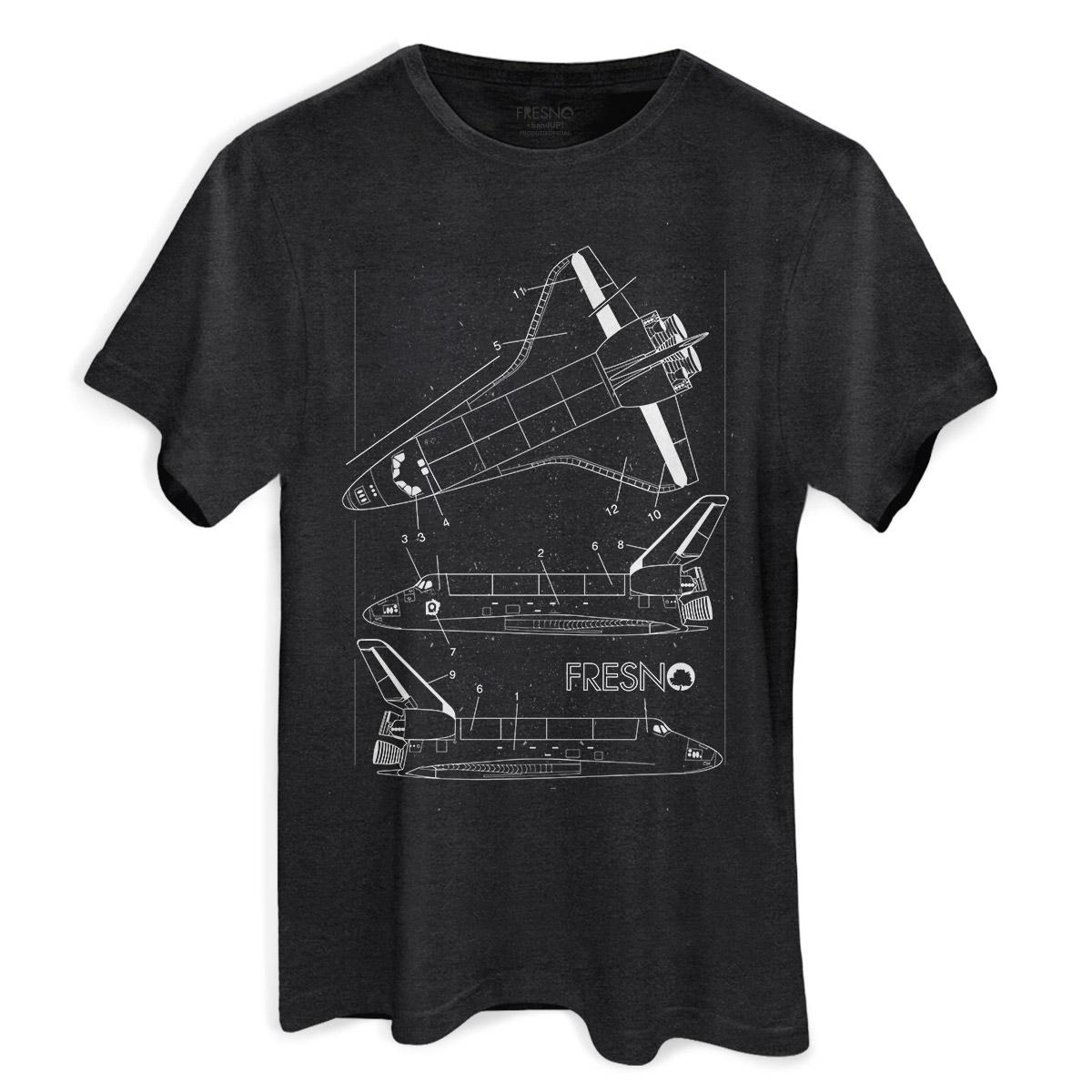 T-shirt Premium Masculina Fresno Shuttles