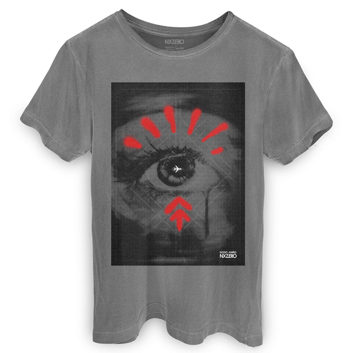 T-shirt Premium Masculina NXZero Modo Avião