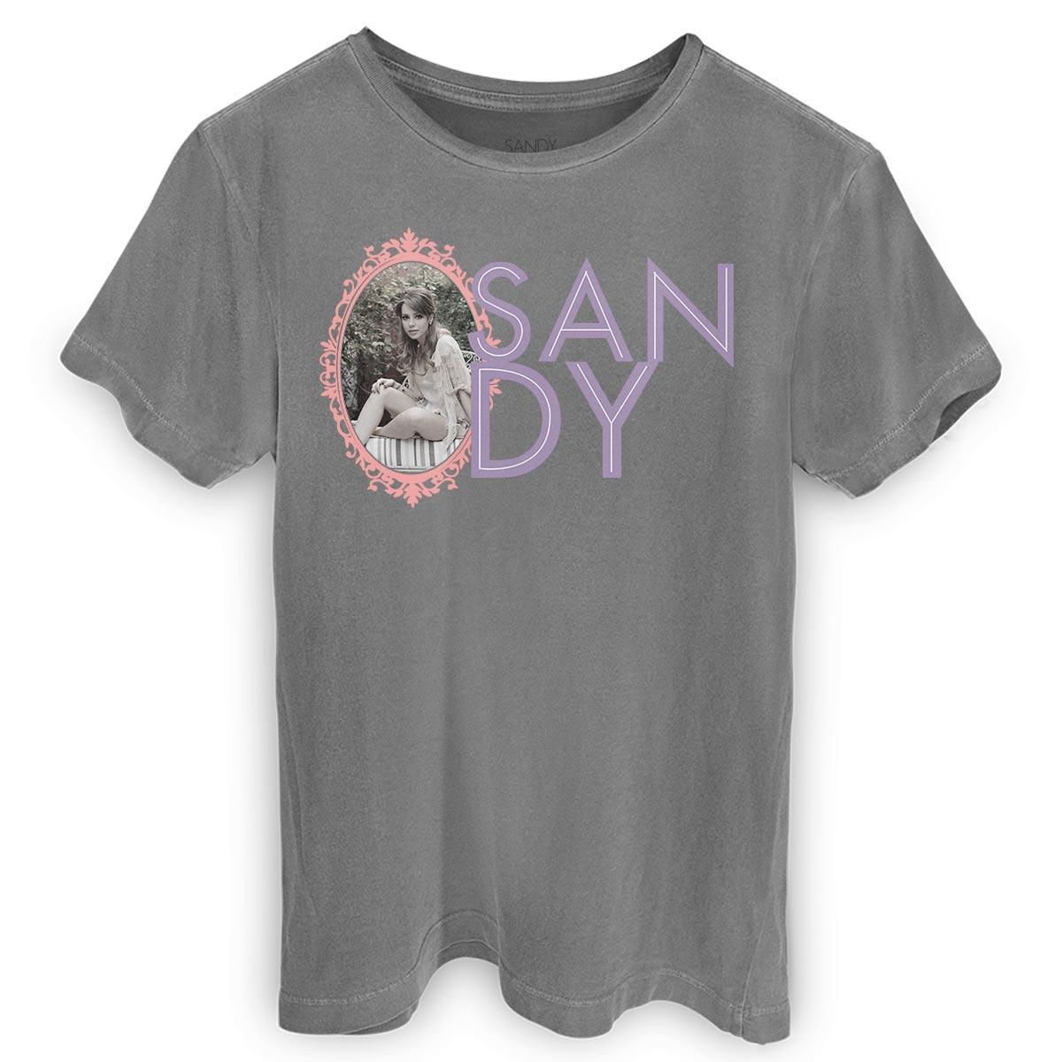 T-shirt Premium Masculina Sandy Moldura