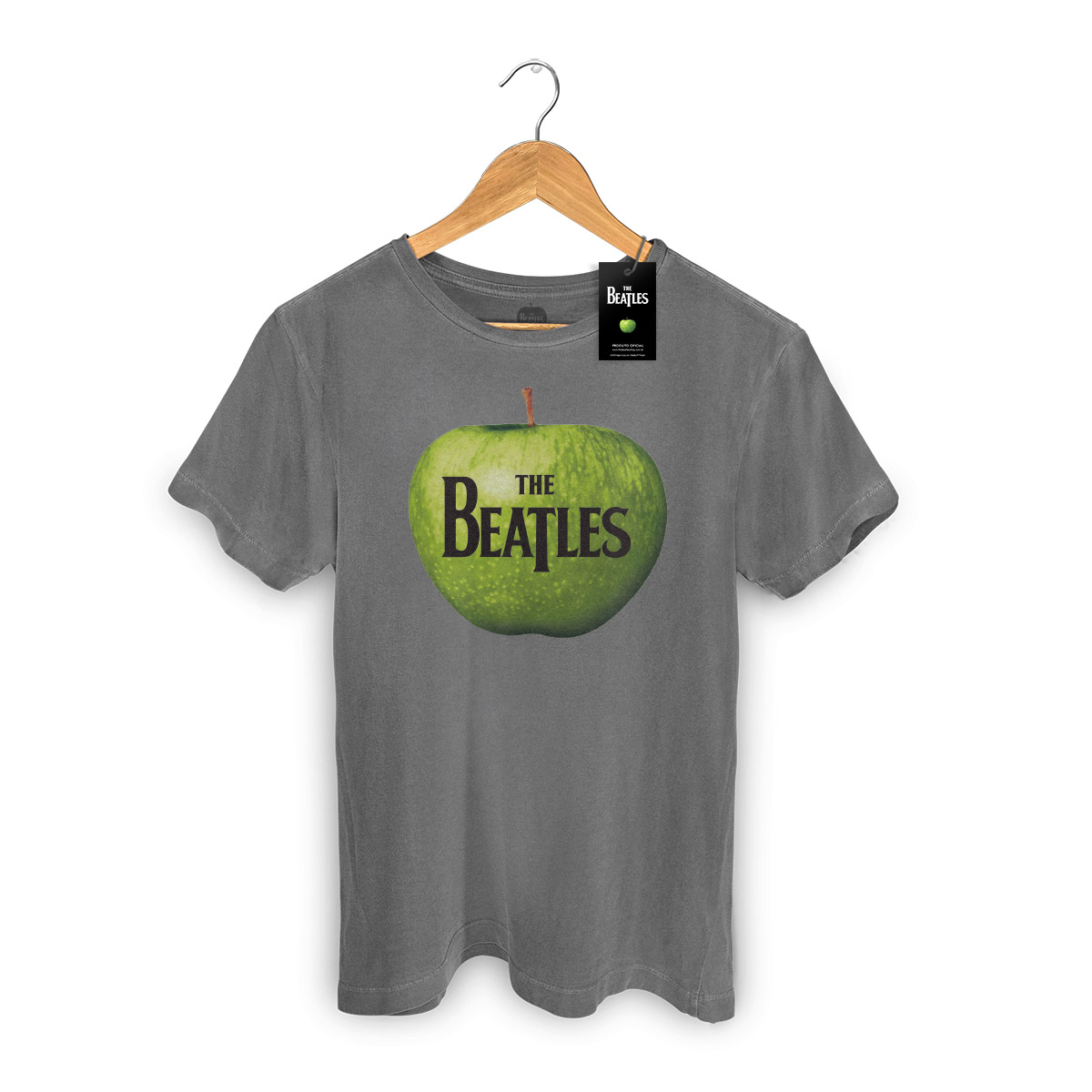 T-shirt Premium Masculina The Beatles Apple Records