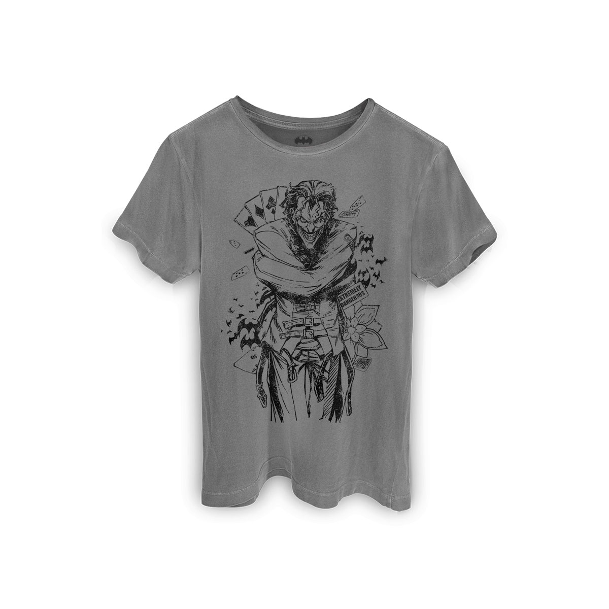 T-shirt Premium Masculina The Joker Extremely Dangerous