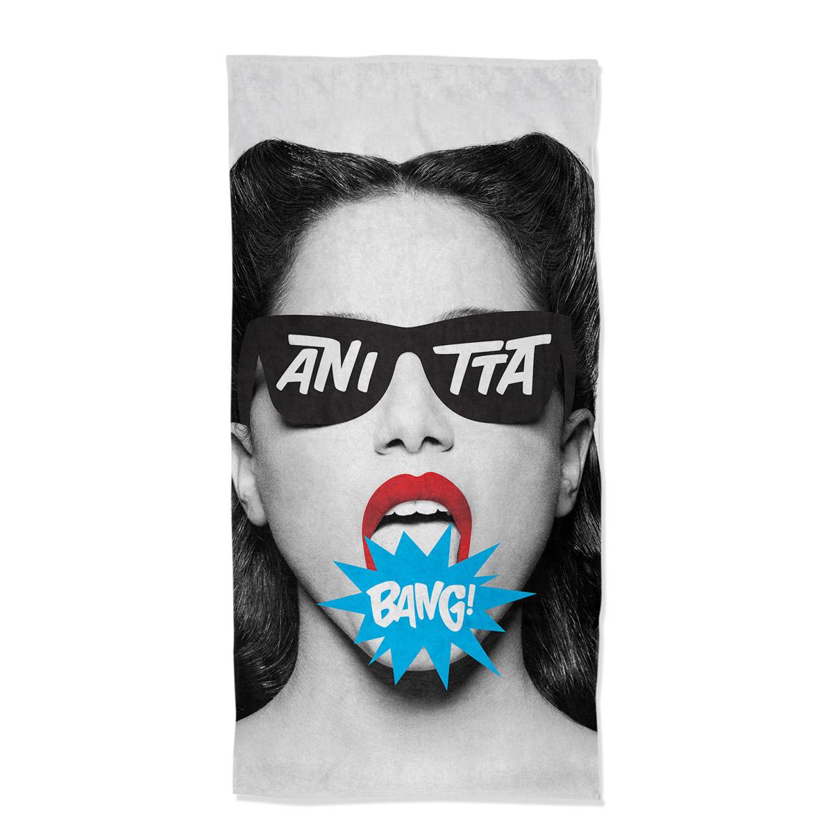 Toalha de Banho Anitta Bang!