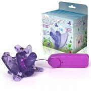 Masturbador Borboleta Mágica - Butterfly Estimulador Feminino com Pênis (LILÁS) - referência: MAS07/0316