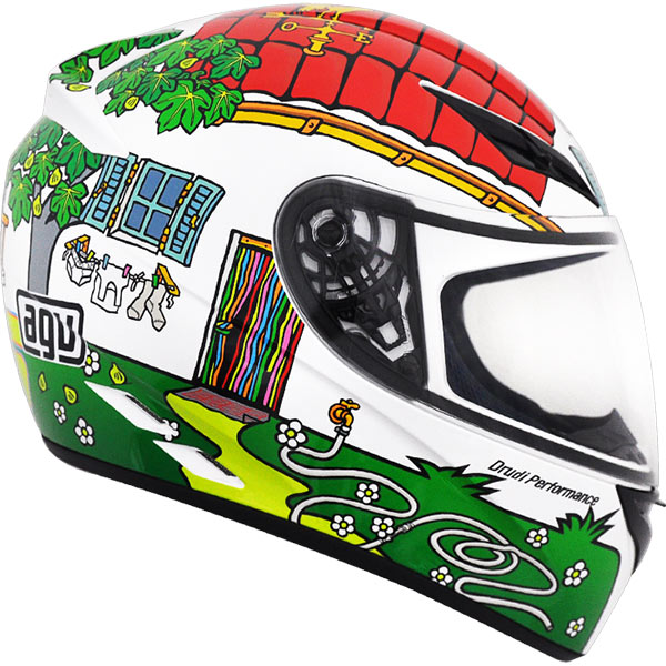 Capacete AGV K-3 House Valentino Rossi