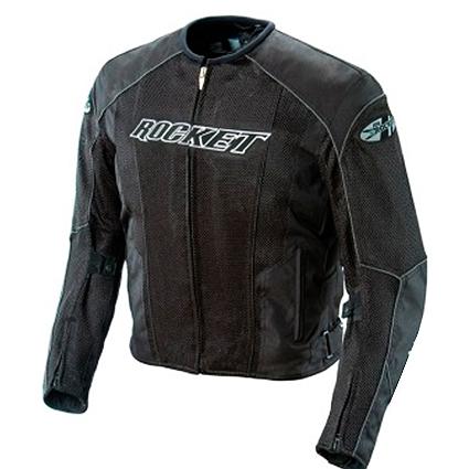 0 Jaqueta Joe Rocket Phoenix 2.0 Preto  - Impermeável ventilada - Mês do Motociclista  - Planet Bike Shop Moto Acessórios