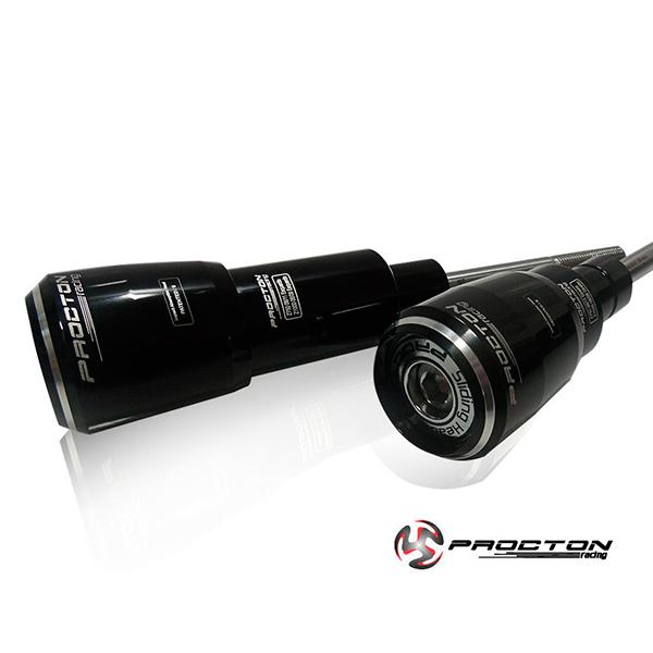 Slider Procton com Amortecimento Kawasaki Z750 08/12 e Z1000 08/09
