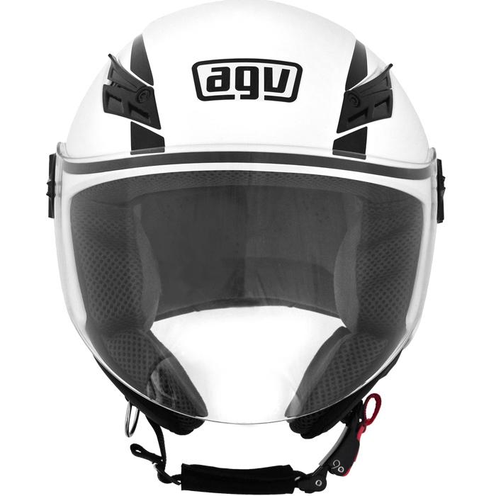 Capacete AGV Blade Mono White (Brilhante)  - Planet Bike Shop Moto Acessórios
