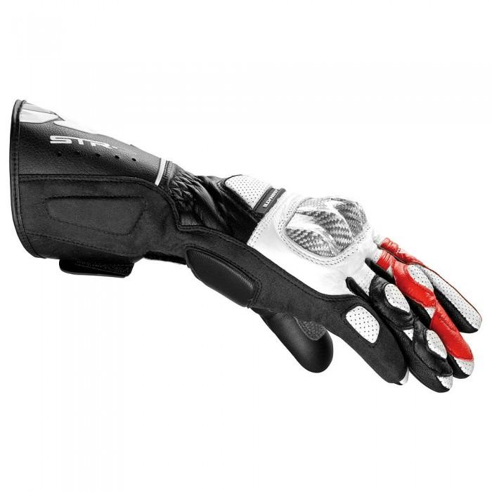Luva Spidi STR-3 Black/Red NOVA!  - Planet Bike Shop Moto Acessórios