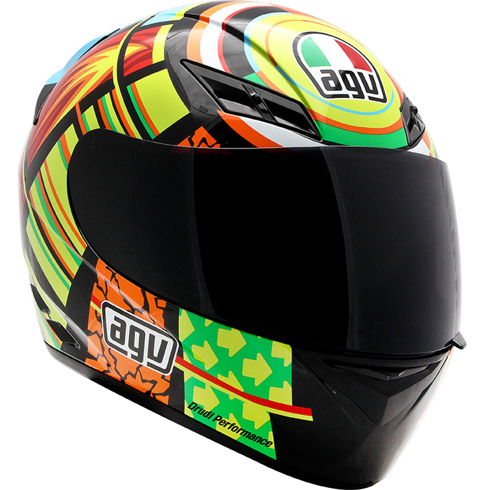 Capacete AGV K-3 Elements Valentino Rossi - BLACK FRIDAY