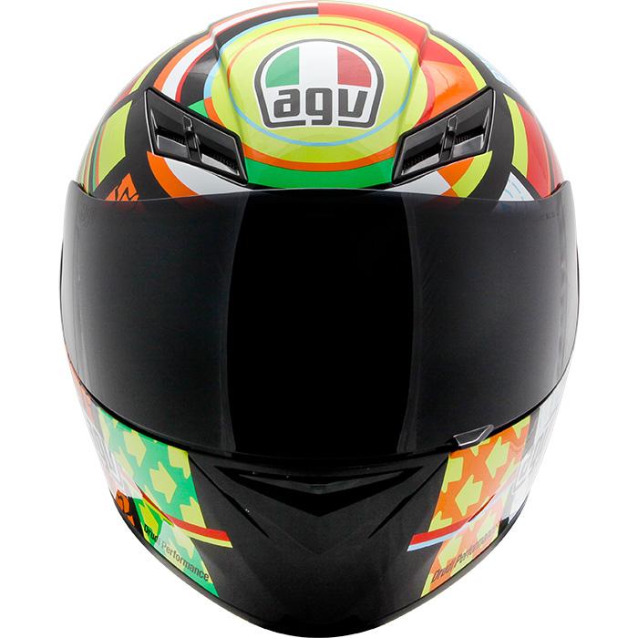 Capacete AGV K-3 Elements Valentino Rossi   - Planet Bike Shop Moto Acessórios