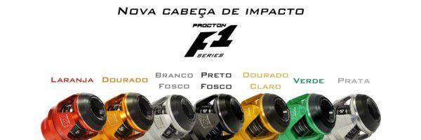 Acabamento (Cabeça de Impacto) Procton Modelo F1  - Planet Bike Shop Moto Acessórios