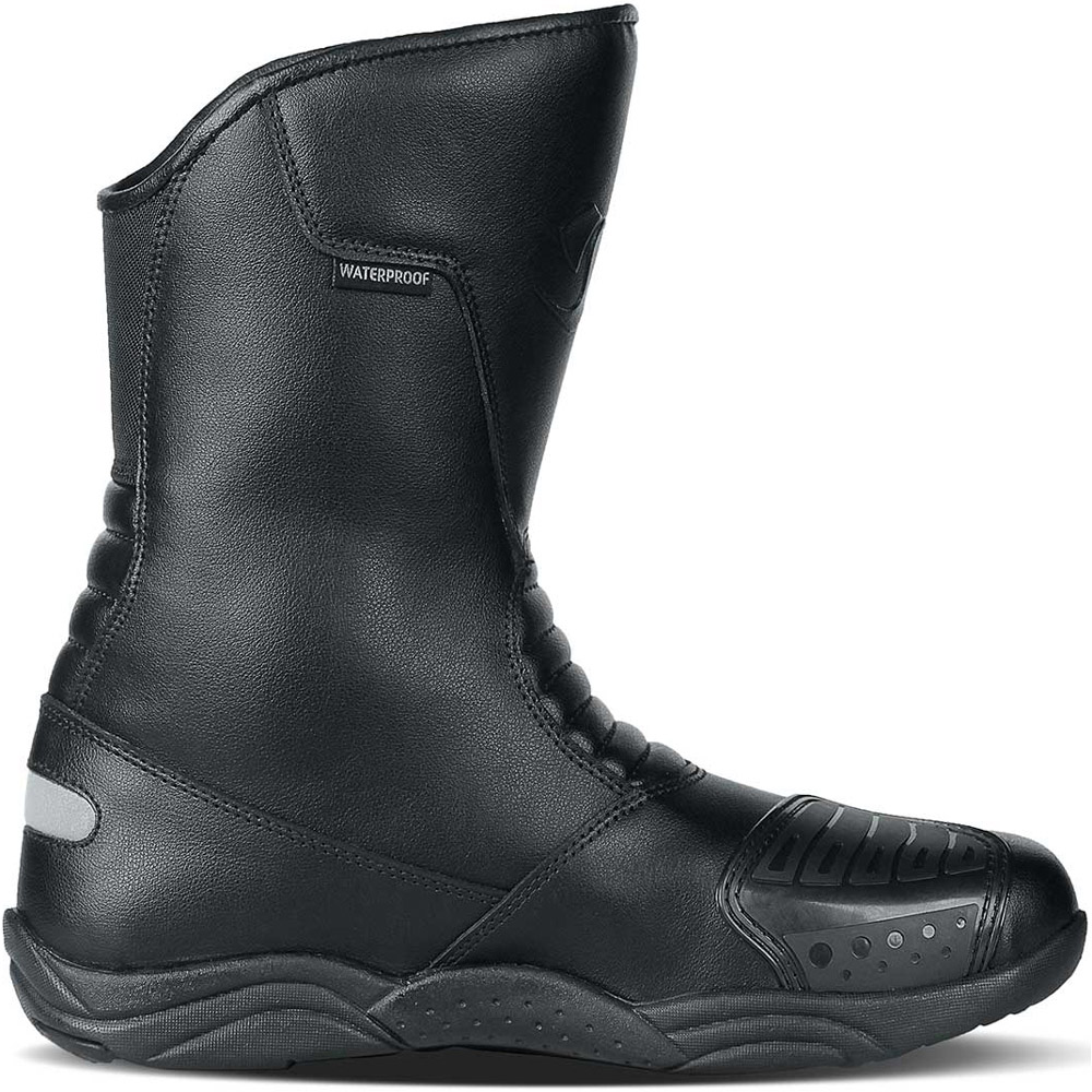 Bota Race Tech Road Touring WP Preto (Oferta)  - Planet Bike Shop Moto Acessórios