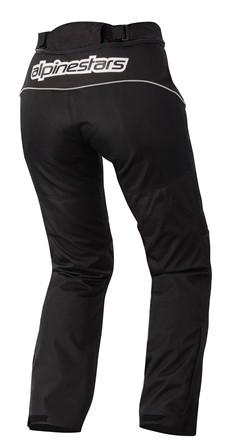 Calça Alpinestars Stella AST-1 WP (Black) Feminina  - Planet Bike Shop Moto Acessórios