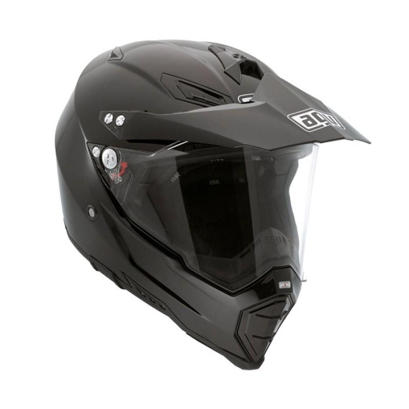 Capacete AGV AX8 Duo Evo Mono Black