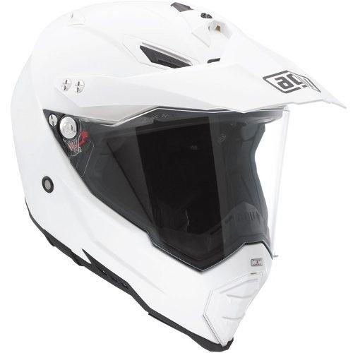 Capacete AGV AX8 Duo Evo Mono White