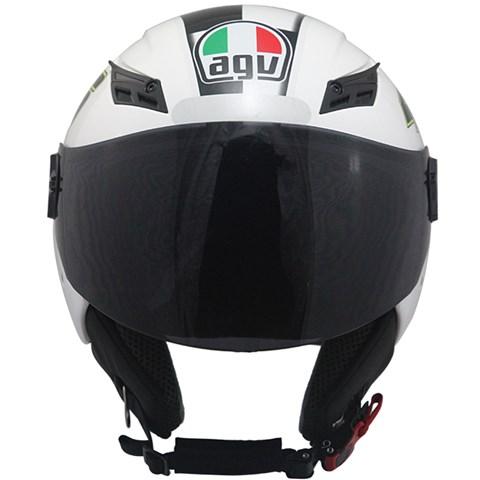 Capacete AGV Blade Celebre 08 White (Valentino Rossi)  - Planet Bike Shop Moto Acessórios