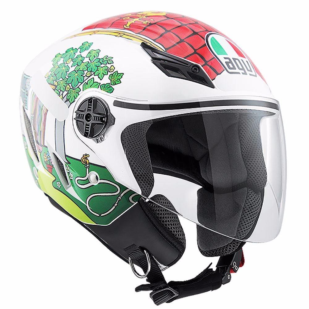 Capacete AGV Blade House Valentino Rossi   - Planet Bike Shop Moto Acessórios
