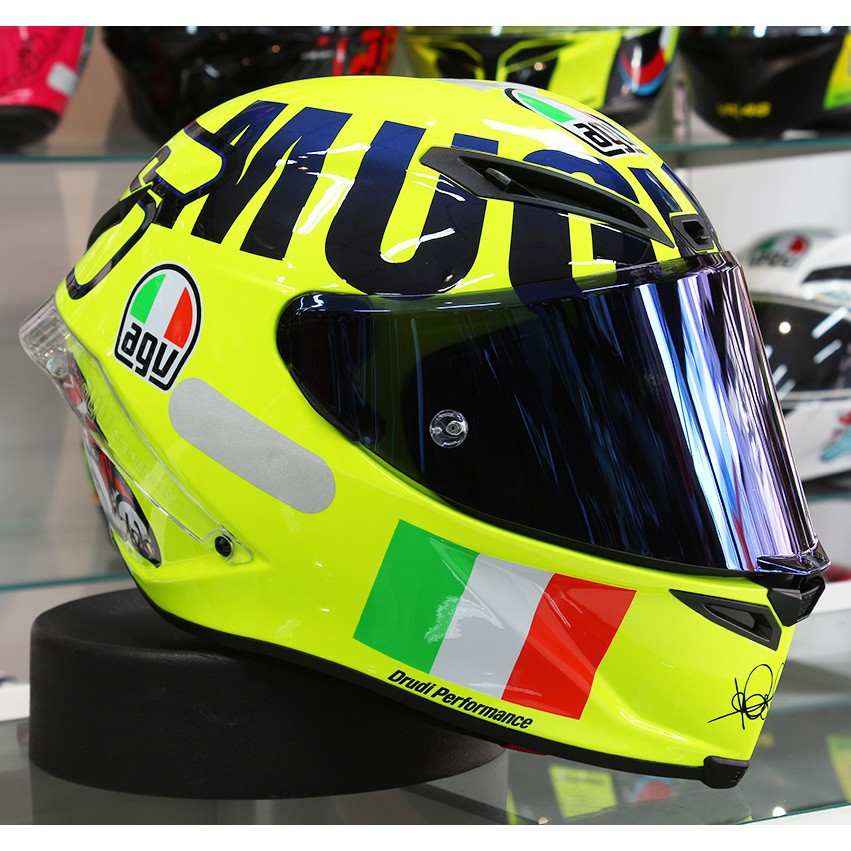 0 Capacete AGV Corsa R Mugello 2016 Valentino Rossi Oficial NOVO!