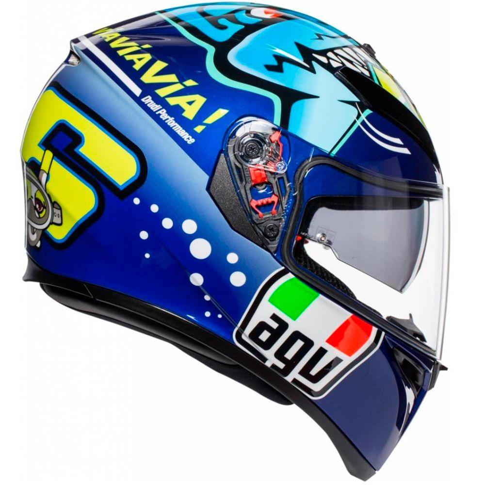 Capacete AGV K3 SV Valentino Rossi Misano 2015