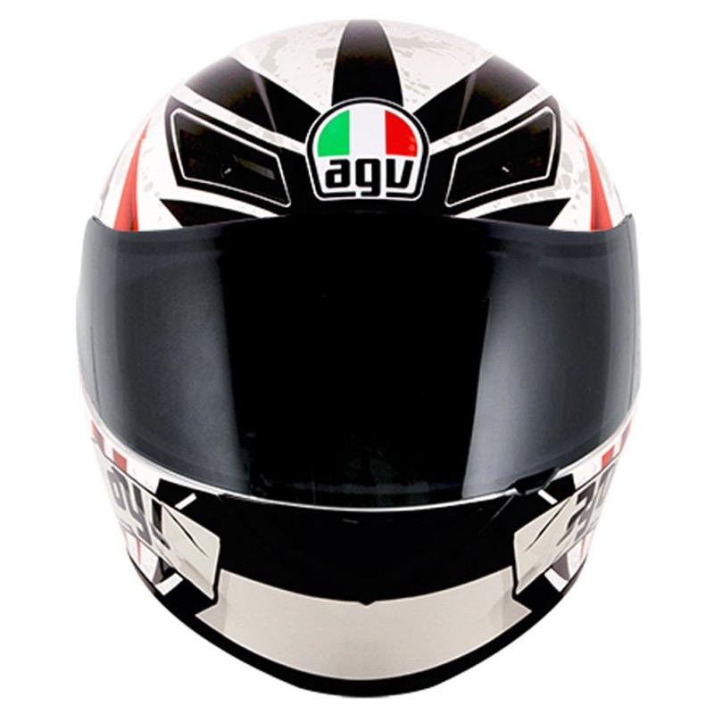 Capacete AGV K-3 Rider To TheBone   - Planet Bike Shop Moto Acessórios