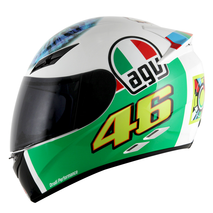 Capacete AGV K-3 The Eye Valentino Rossi   - Planet Bike Shop Moto Acessórios