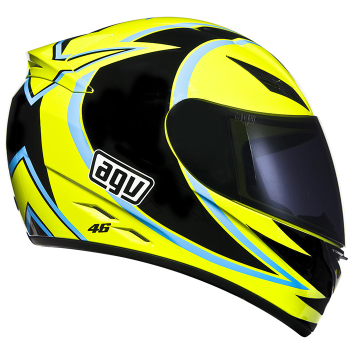 Capacete AGV K-3 Winter Test 05 Valentino Rossi - Black Friday