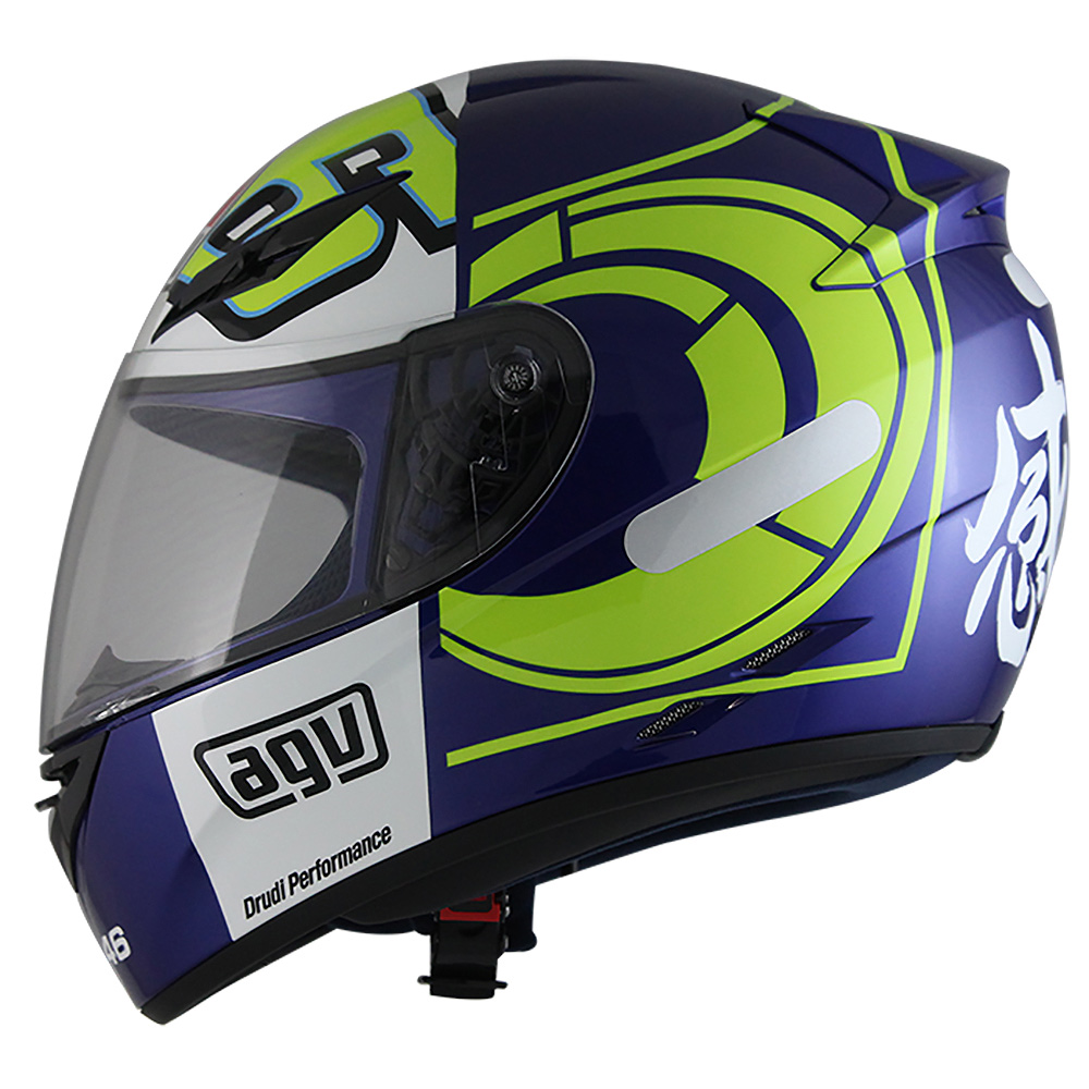 Capacete AGV K-3 Winter Test 2012 Valentino Rossi - Black Friday