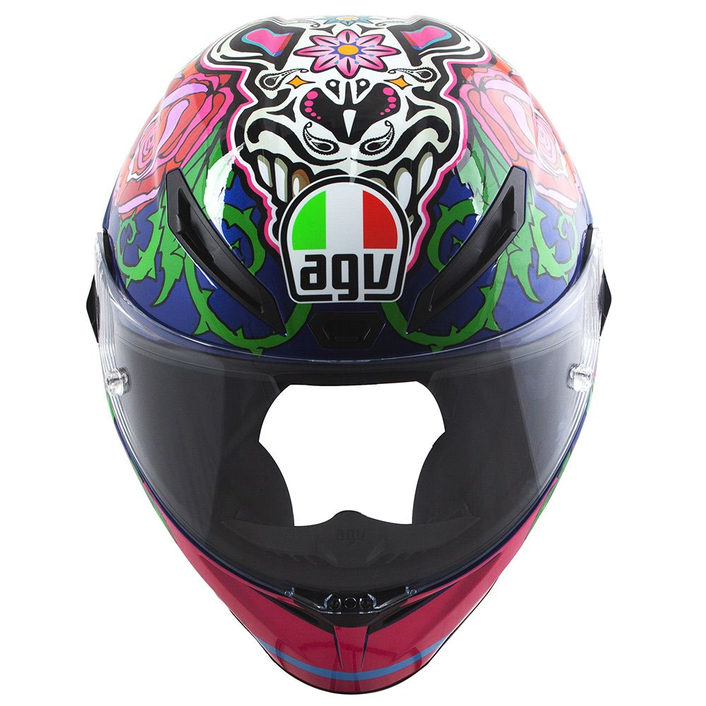 Capacete AGV Veloce Salom 16 Mexicano - Feminina  - Planet Bike Shop Moto Acessórios