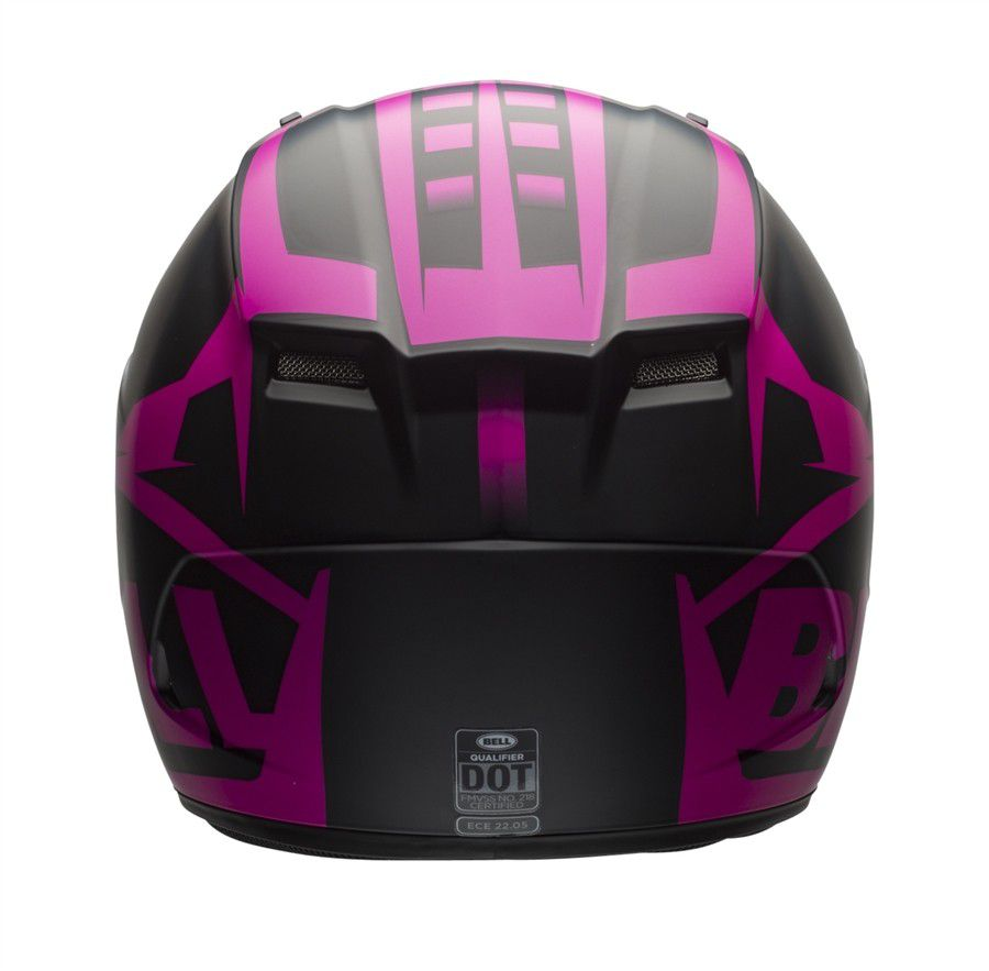Capacete Bell Qualifier Momentum Matte Snow Pink  - Planet Bike Shop Moto Acessórios