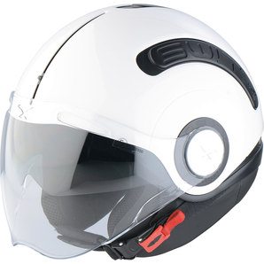 Capacete Nexx SX10 Branco - Troca Capinha - Aberto