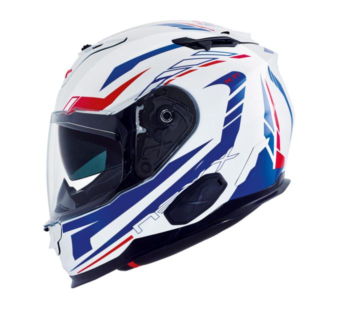 Capacete Nexx X.T1 GRID Azul (XT1) Tri-Composto - Consulte Grade  - Planet Bike Shop Moto Acessórios