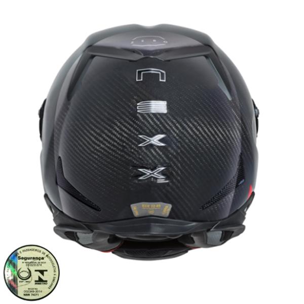 Capacete Nexx XR2 Carbon Zero (Carbono)   - Planet Bike Shop Moto Acessórios