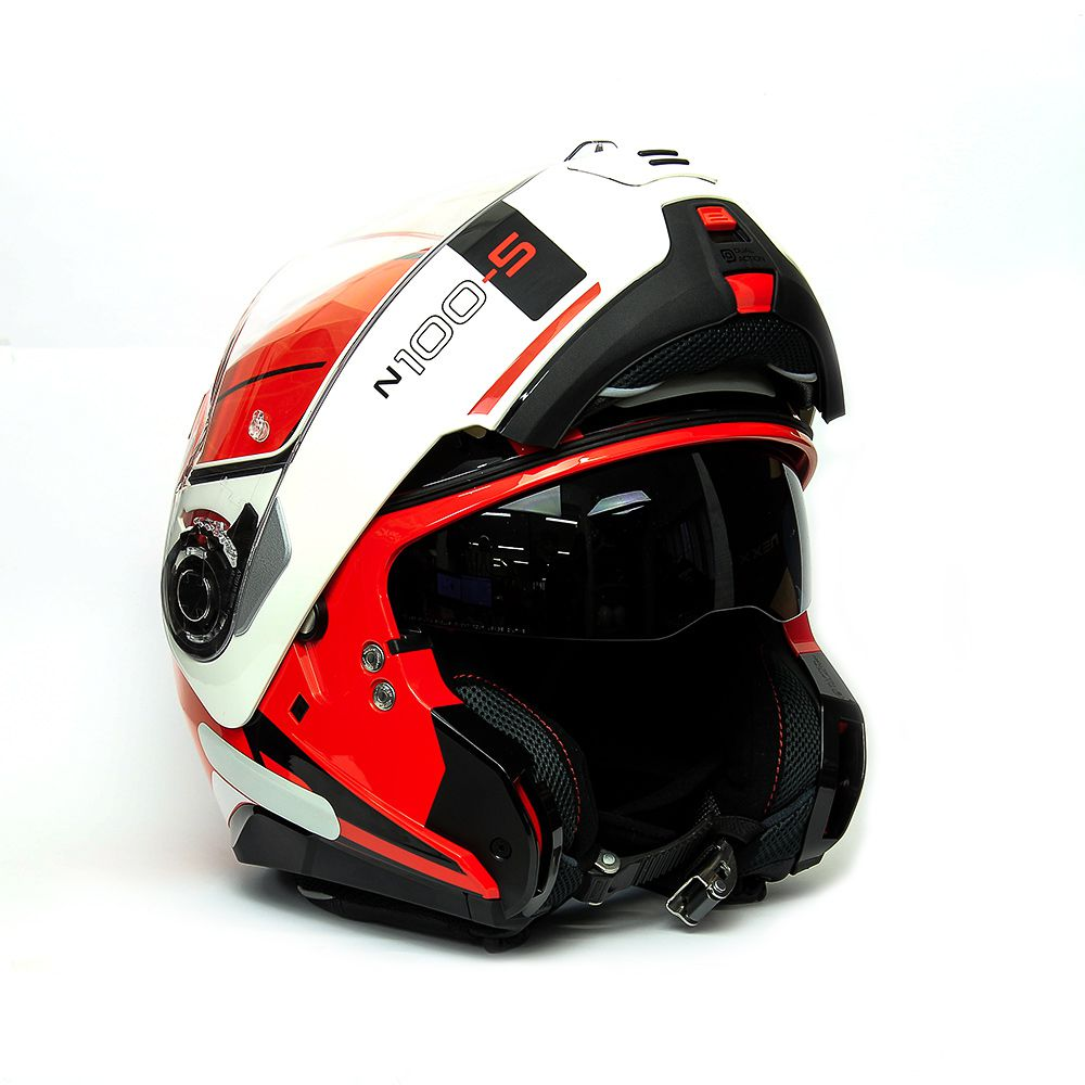 Capacete Nolan N100-5 Consistency Red - 20