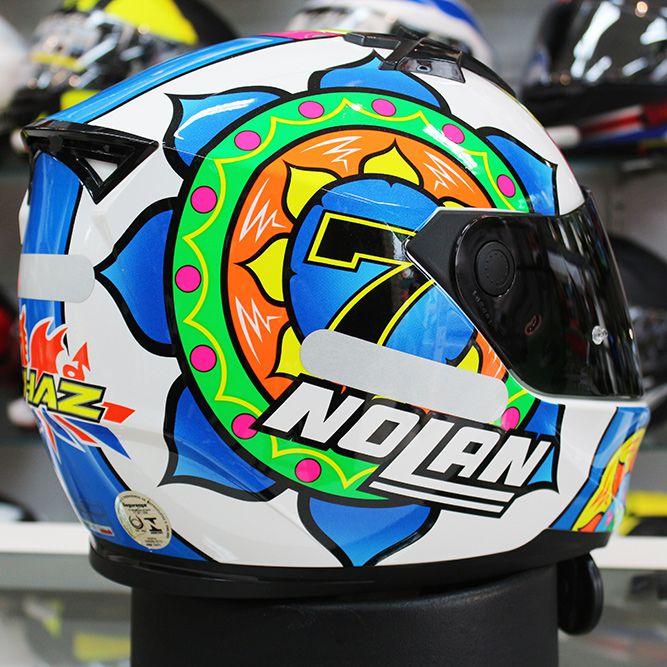 Capacete Nolan N64 Réplica C. Davies Sepang   - Planet Bike Shop Moto Acessórios